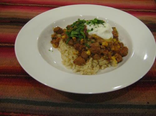 Chipotle Chili withRice